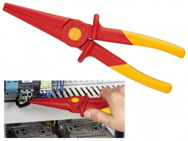 KNIPEX 986202 szczypce wydłużone PCV VDE 1000V 220mm
