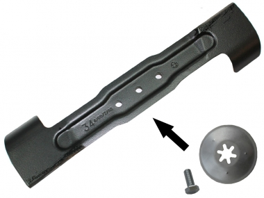 BOSCH nóż ostrze zapasowe kosiarka 34cm