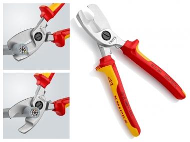 KNIPEX 9516200 obcinak nożyce cęgi VDE do kabli