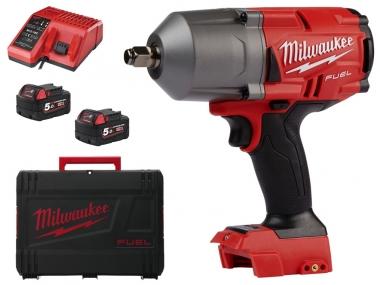 MILWAUKEE M18 FHIWF12-502X klucz udarowy 1358Nm 2x5,0Ah