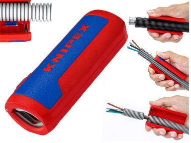 KNIPEX 902201 nóż ściągacz do izolacji kable karbowane 13-32mm