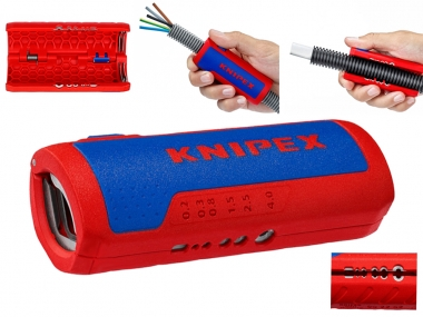KNIPEX 902202 nóż ściągacz do izolacji kable karbowane 13-32mm