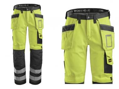 SNICKERS 3233 spodnie robocze odblaskowe