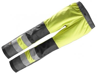 SNICKERS 6530 spodnie odblaskowe przeciwdeszczowe nieprzemakalne