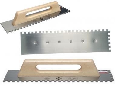 RUBI paca zębata stal uchwyt zamknięty drewno 48x12cm