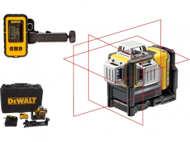 DEWALT DCE089D1R laser krzyżowy + DE0892