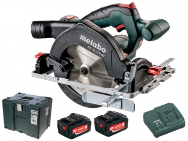 METABO KS 18 LTX 57 pilarka tarczowa 165mm 5,2Ah metaloc