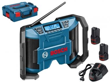 BOSCH GPB 12V-10 2,0Ah LB radio budowlane 10,8V 12V 230V