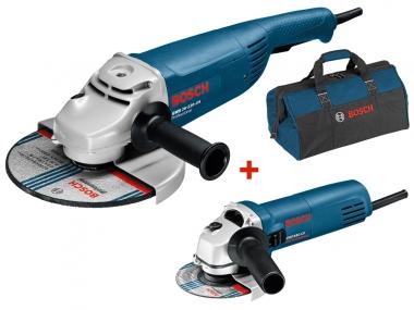 BOSCH GWS 22-230 JH / GWS 850 CE szlifierka kątowa 230 + 125 mm