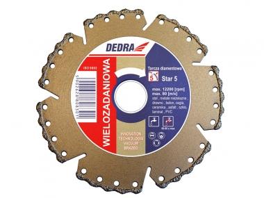 DEDRA H1083 tarcza diamentowa wielozadaniowa 125mm