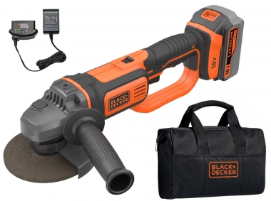BLACK&DECKER BCG720M1 szlifierka kątowa 125mm 18V 1x4,0Ah