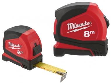 MILWAUKEE Pro C8/25 miara taśma stal zwijana 8m