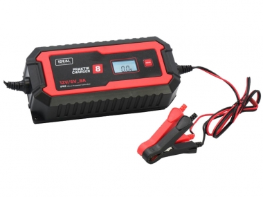 IDEAL PRAKTIK CHARGER 4 LCD prostownik 6 / 12V