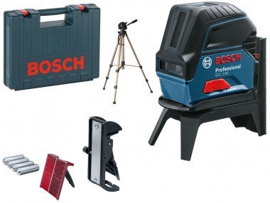 BOSCH GCL 2-50 laser krzyżowy punktowy statyw