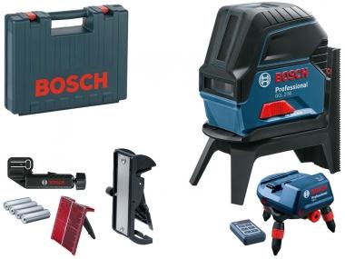 BOSCH GCL 2-50 laser krzyżowy punktowy + RM3