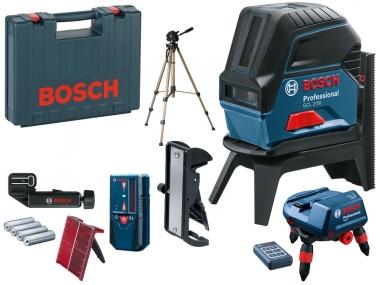 BOSCH GCL 2-50 laser krzyżowy punktowy + RM3 LR6 statyw