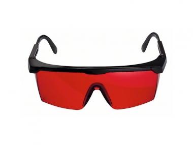 BOSCH okulary do lasera czerwone