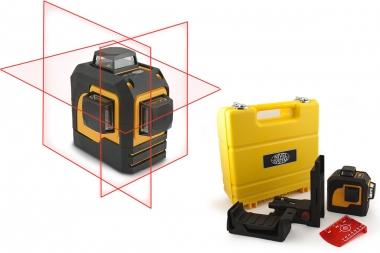NIVEL SYSTEM CL3D laser krzyżowy CZERWONY 3x360°
