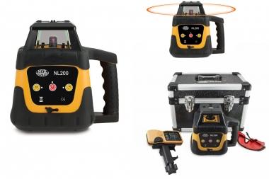 NIVEL SYSTEM NL200 laser obrotowy CZERWONY