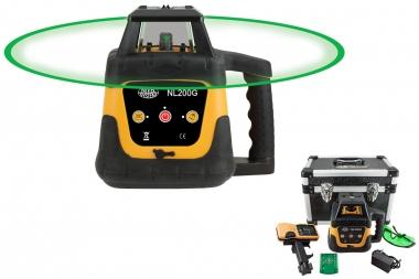NIVEL SYSTEM NL200G laser obrotowy ZIELONY