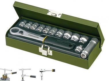 PROXXON 23602 klucze nasadowe grzechotka przelotowa 13el