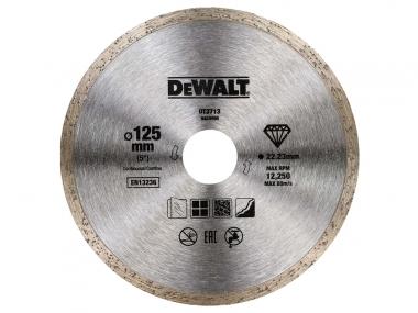 DeWALT DT3713 tarcza diamentowa pełna 125 / 22,2 mm