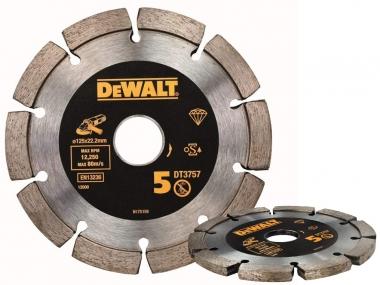 DeWALT DT3757 tarcza diamentowa do spoin 125 / 22,2 mm
