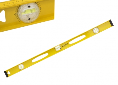 STANLEY 42-923 poziomica aluminiowa 120cm 3-libelle