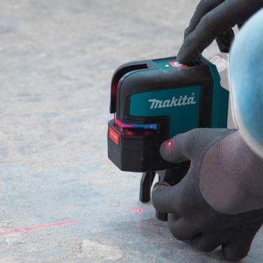 MAKITA SK106DZ laser krzyżowy punktowy CZERWONY