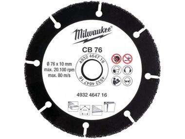 MILWAUKEE tarcza tnąca uniwersalna 76mm M12 FCOT