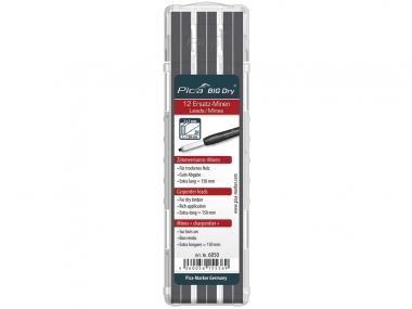 PICA 6050 ołówek stolarski automatyczny - wkłady do drewna 12 sztuk