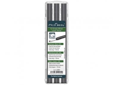 PICA 6055 ołówek stolarski automatyczny - wkłady do kamienia 12 sztuk