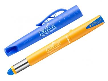 PICA 8081 znacznik marker permanentny niebieski