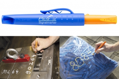 PICA 8084 znacznik marker permanentny żółty