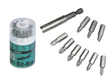 WOLFCRAFT 1575000 zestaw bity adapter 10 sztuk