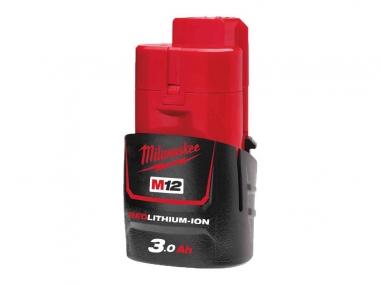 MILWAUKEE akumulator M12B3 12V 3,0Ah Li-Ion