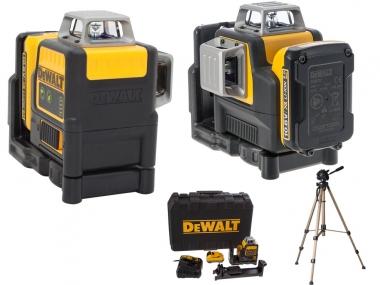 DEWALT DCE0811D1G laser krzyżowy ZIELONY 15m + statyw