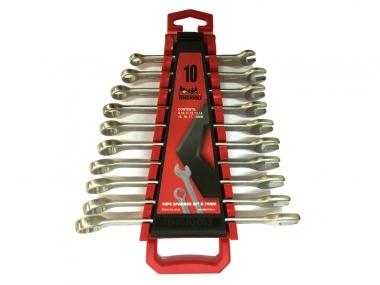 TENGTOOLS 6510A klucze płaskooczkowe 10szt zestaw