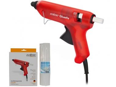STEINEL GLUEFIX pistolet do klejenia na gorąco + klej 20szt.