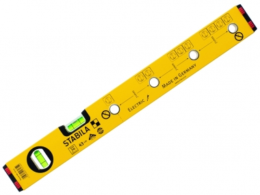 STABILA Electric poziomica aluminium 2 libele 43cm