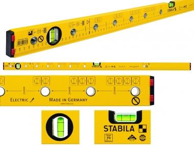 STABILA Electric poziomica aluminium 2 libele 120cm
