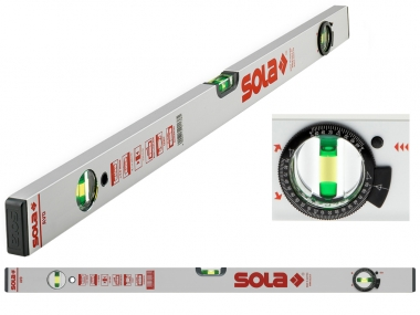 SOLA AVD 80 poziomica aluminium 3 libele 80cm