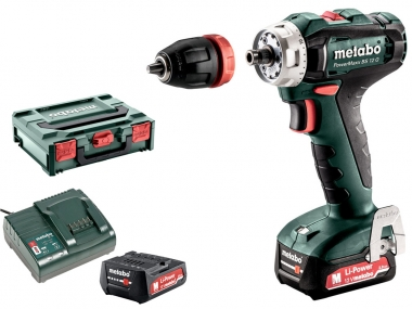 METABO PowerMaxx BS 12 Q wkrętarka 40Nm 12V 2,0Ah
