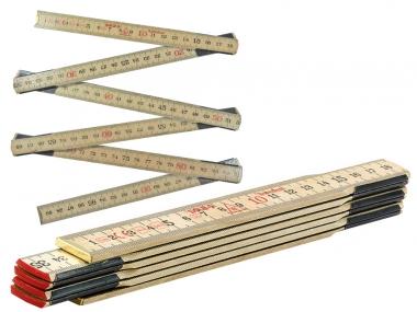 SOLA HG1/6 miara miarka składana drewniana 1m