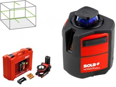 SOLA HORIZON GREEN BASIC laser krzyżowy obrotowy 360° ZIELONY