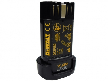 DEWALT DCB080 akumulator 7,2V 1,0Ah Li-Ion