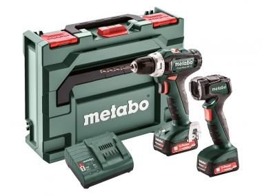 METABO PowerMaxx BS 12 wkrętarka 40Nm 12V 2,0Ah + latarka ULA 12 LED