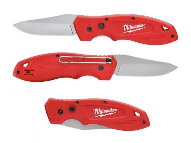 MILWAUKEE nóż składany ostrze stałe scyzoryk