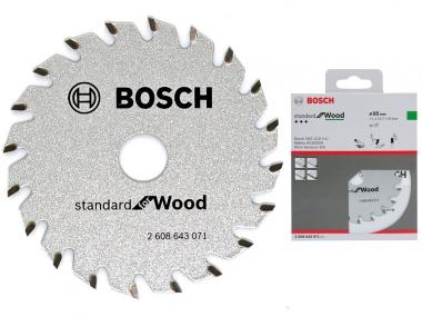 BOSCH Standard piła tarcza do drewna 20z 85mm