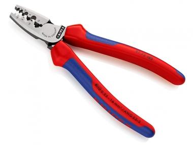 KNIPEX 9772180 szczypce do zagniatania tulejek kablowych 180mm